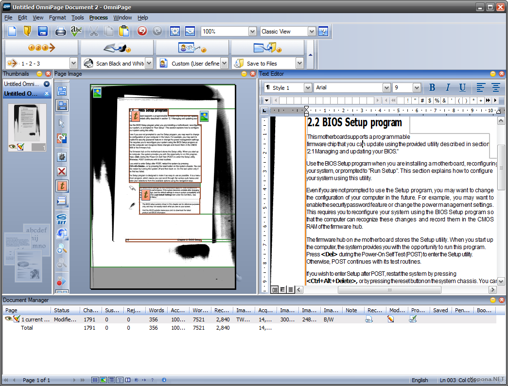 omnipage professional 16 gratuit