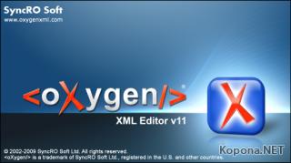 Oxygen XML Editor v11.0