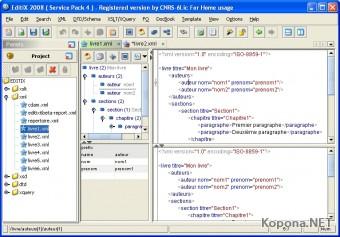 EditiX XML Editor v2009.b210709