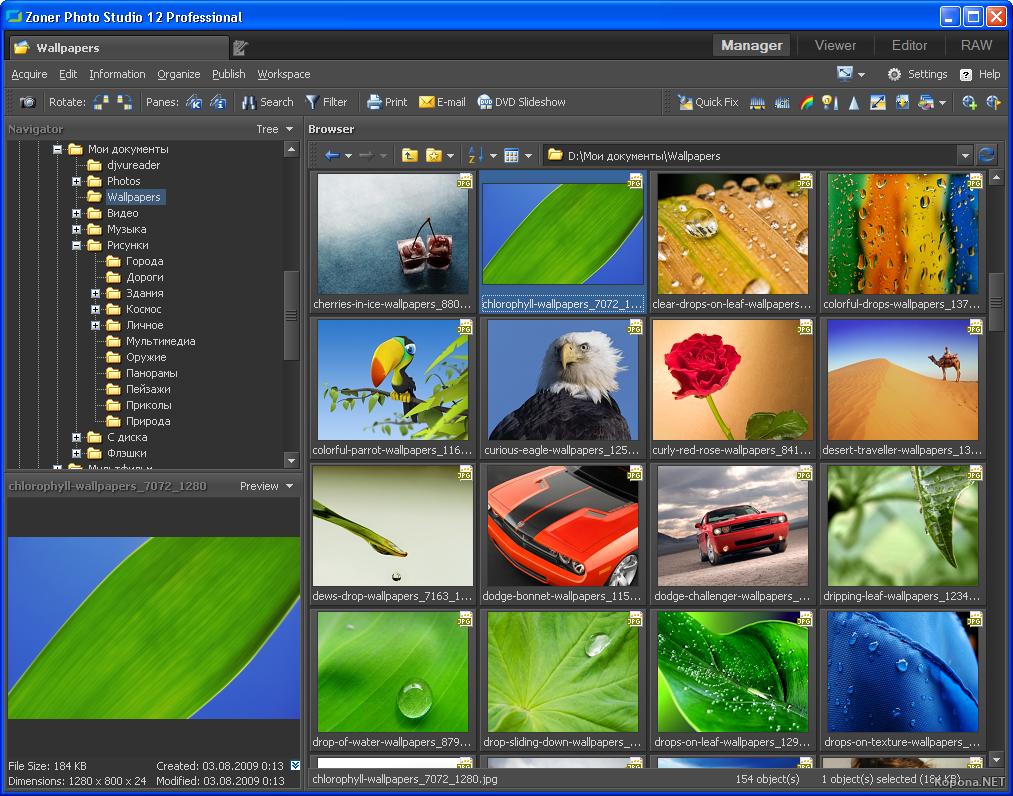 Zoner photo studio professional v12.0.1.7 rus