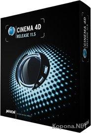 MAXON CINEMA 4D Studio Bundle v11.5 *ISO*