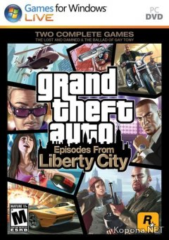 Grand Theft Auto Episodes From Liberty City (2010/ENG)