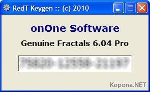 Genuine Fractals Professional v6.05