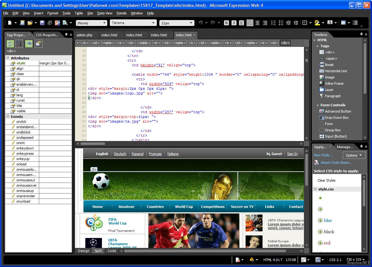 microsoft expression web 4 for mac