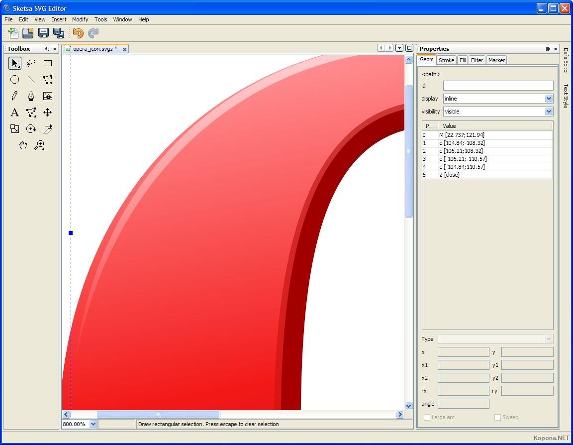 рисовать SVG графику,