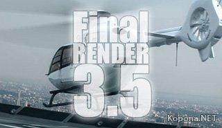 Cebas Final Render r3.5 SE SP3 for 3ds Max 2009-2012