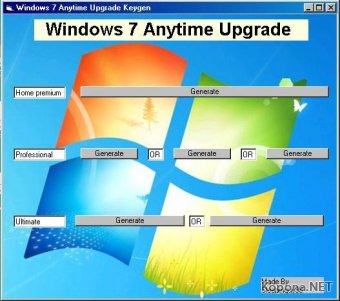 Windows 7 Anytime Upgrade Keygen 1.0