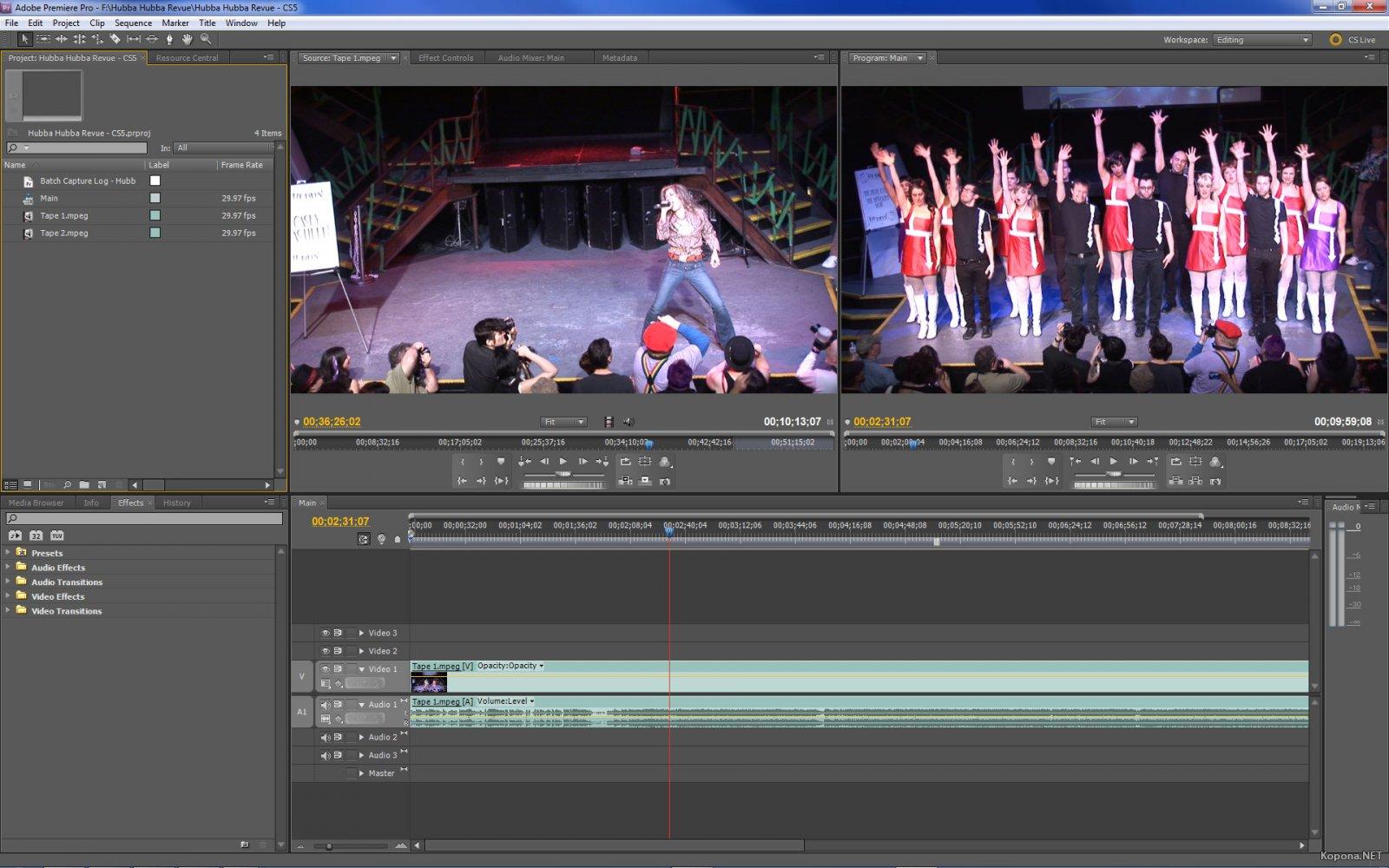 Adobe premiere pro cs5. 5 (5. 5. 2) eng\rus » pooshock. Ru сборки.