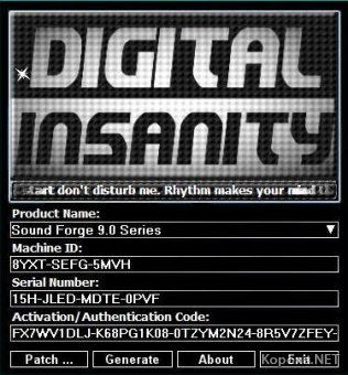 Sony Products Multikeygen v 2-0 by Digital Insanity - 2011